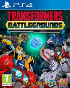 [PS4] TRANSFORMERS: BATTLEGROUNDS (CUSA17580)