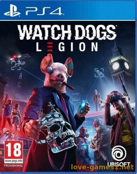 [PS4] Watch Dogs Legion (CUSA13035)