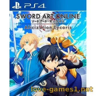 [PS4] SWORD ART ONLINE Alicization Lycoris (CUSA18228)